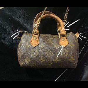 Rare authentic Louis Vuitton Speedy